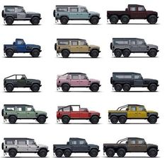 Check out our range of @flyinghuntsman CoachBuilt Vehicles. Which is your favourite? #landrover #defender #landroverdefender #landy #landroverexperience #custom #bespoke #madeintheuk #british #wweuniverse #end #beautiful #beauty #USA #london #dubai #awesome #fashion #picoftheday #batley #black #red #yellow #blue #grey #white #green #greenday #sunday #sundayfunday