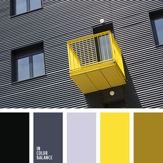 Bright palette, where the balance is maintained through a successful combination of cold shades of gray, passing to black, rich and warm yellow-brown color. Muted gray balances remaining. This will allow the colors effectively accents the exterior, ideal for decoration of a country house.