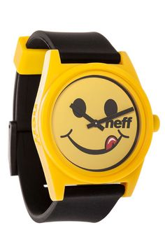 NEFF Watch The Daily in Smilie