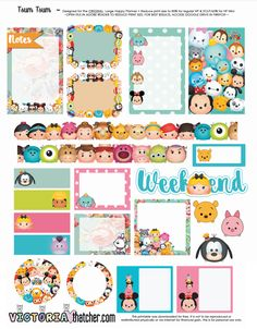 http://www.victoriathatcher.com/blog/tsum-tsum-planner-printable