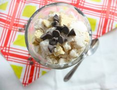 Homemade DQ Cookie Dough Blizzard - Foodie Fiasco