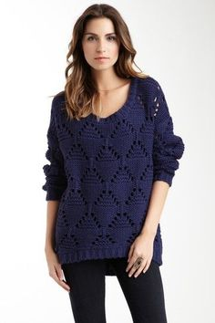 American Vintage Cable Knit Sweater