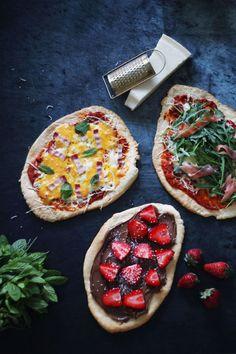 Η πιο εύκολη συνταγή για ζύμη πίτσας | Cool Artisan Vegetable Pizza, Vegetables, Food, Veggies, Vegetable Recipes, Meals, Yemek, Veggie Pizza, Eten
