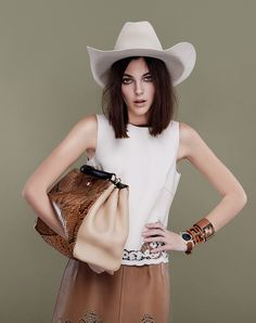 cowgirls - Vittoria Cetetti by Jolijn Snijders for Gioia Magazine