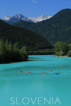 Lake Kayaking in Slovenia