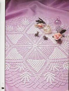 Kira scheme crochet: Scheme crochet no. 101