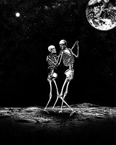 Moondance, me, mixed media, 2020