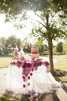 Sweet table pour enfant