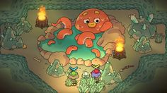 The trailer for The Swords of Ditto is adorable enough that I can't wait to see more of this game.