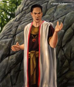 Sherem - A learned man who teaches the people of Nephi that there shall be no Christ.   He challenged Jacob son of Lehi and demanded a sign from God.   He was struck down and admited his fault to the people before he died.    Jacob 7