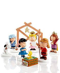 Department 56 Collectible Figurines, Peanuts Village Collection