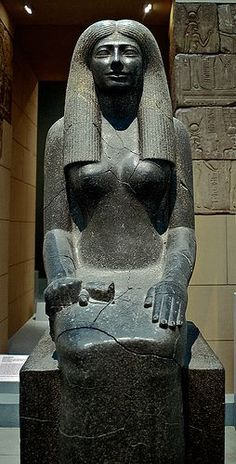 MFA Egyptian Statue of Lady Sennuwy I