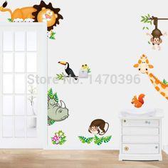 Pas cher animaux hippopotame sticker mural amovible décalcomanies enfants bébé pépinière yl4 salle art, Acheter  Autocollants muraux de qualité directement des fournisseurs de Chine:d'autres nouveau( voir détails): une marque- neuf, inutilisé, et article usé( y compris objets artisanaux) qui est non d