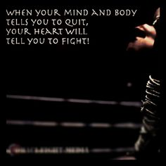 Muay Thai quote