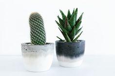 Concrete Planter  Medium di foxandramona su Etsy