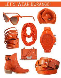 These Please: Burnt Orange (Borange)
