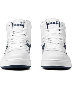 DIADORA White Mi Basket Sneakers