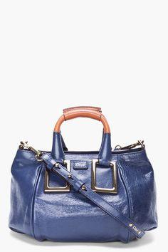 Small Midnight Blue Shoulder Bag