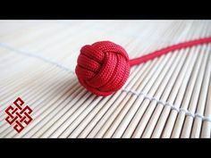 How to Make a Monkey's Fist with No Marble / Ball Bearing Tutorial - YouTube