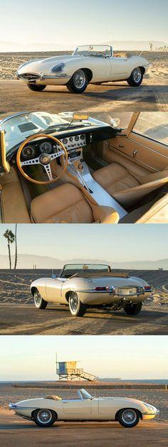 1962 Jaguar E-Type SI Roadster - Jaguar - auto Jaguar Roadster, Jaguar Cars, British Sports Cars, Classic Sports Cars, Classic Cars, Eagle Scout, Cabriolet, Jaguar E Type, Amazing Cars