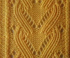 Discover thousands of images about Yellow Eyelet Lace Knit Stitch Chart. Lace Knitting Stitches, Lace Knitting Patterns, Cable Knitting, Knitting Charts, Lace Patterns, Free Knitting, Stitch Patterns, Creative Knitting, Sewing Basics