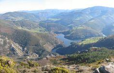 Imágen desde el Pico del Cuco (Boal) a la la Presa de Doiras  (Alberto Montes- Panoramio)