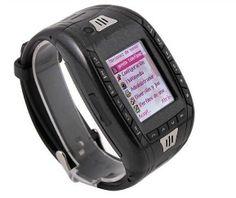Free Shipping Mini Three Band Watch Mobile Phone GPRS Bluetooth  Multi-language  http://www.ebay.com/itm/111371895731