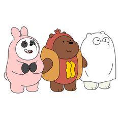 Foto Cartoon, Cute Cartoon Drawings, Bear Cartoon, We Bare Bears Wallpapers, Panda Wallpapers, Cute Cartoon Wallpapers, Cute Panda Wallpaper, Bear Wallpaper, Disney Wallpaper
