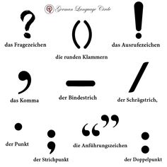 Punctuations are essentials in any language and using them in your writing helps the reader to clearly understand the message that is being conveyed. .. .. You might be wondering what they are called. And this post will exactly tell you that. .. .. ------------------------------------- For more:  Follow @germanlanguagecircle  Follow @germanlanguagecircle  Follow @germanlanguagecircle  Follow @germanlanguagecircle . .. .. #german #germanlanguage #germanlanguagecircle #germanclasses #learn #punctu German Language Learning, Learn German, Writing Help, Punctuation, Messages, Germany, Essentials, Instagram