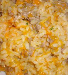 ⇒ Bimby, le nostre Ricette - Bimby, Risotto Zucca e Salsiccia