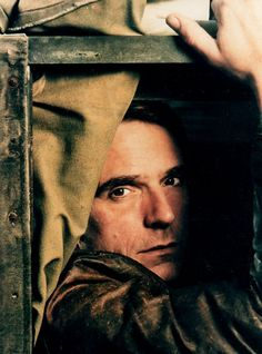 Jeremy Irons. Totally old-man crushing on this dude for YEARS... pretty much since Lolita. I am a twisted, sick individual. Rawr.