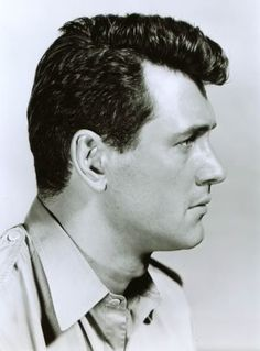 Image of Rock Hudson hairstyle.