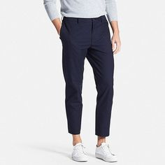 pants Woman Coats woman in black coat Ankle Pants Mens, Ankle Pants Outfit, Mens Dress Pants, Men Pants, Trouser Pants, Uniqlo Outfit, Uniqlo Men, Uniqlo Style, Trousers