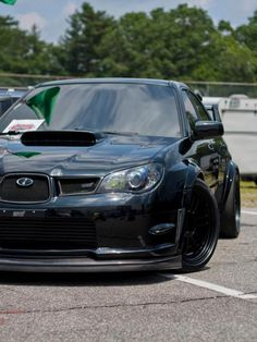 STI.. I just about died.. BEST. CAR. EVER!