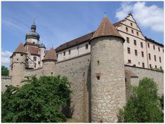 WUERZBURG (GERMANY): The mighty Marienberg Fortress is the symbol of Würzburg and served as a home of the prince-bishops for nearly five centuries.