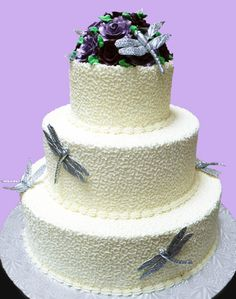 Dragonfly  Love this cakes bugs!