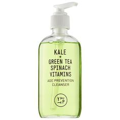 YOUTH TO THE PEOPLE Kale + Spinach + Green Tea Age Prevention Cleanser  At Sephora.com