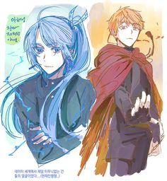 Tower of God koon eduan zahard Anime Characters Male, Fantasy Characters, Aesthetic Art, Aesthetic Anime, Great Warriors, Webtoon Comics, Manhwa Manga, Ship Art, Anime Comics