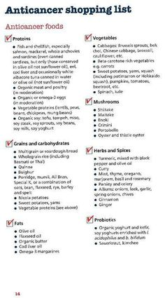 Anti-cancer foods... Fight from within!