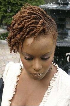 Flat twist hairstyles for black women