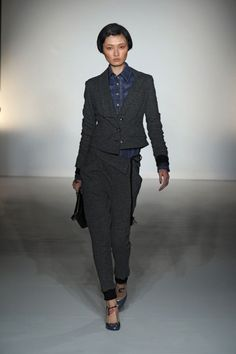 Vivienne Westwood Gold Label AW12/13 - on the catwalk @ London Fashion Week
