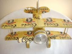 How to build a model airplane out of beer cans here is the for Aluminum can crafts patterns