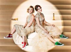 Tina Fey and Amy Poehler for the 2013 Golden Globes