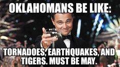 Oklahoma tornados and tigers 2015