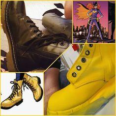 Batgirl boots!