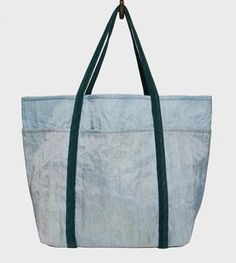Recycled Beer Filter Cloth Beach Bag, Sea Colors @248