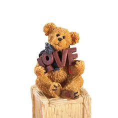 Boyd's Bears by Enesco Collectible Luvy Figurine - Bears, Boyd's, Collectible, Enesco, Figurine, Luvy