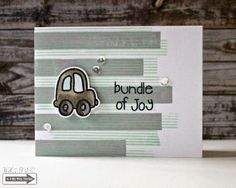 Tracy Mae Design: Bundle of Joy || The Alley Way Stamps, Crossing Lines, Priceless Joy, TAWS, clear stamps, stamping, card,