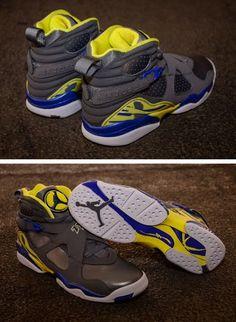 "2013 Air Jordan 8 GS ""Laney"" Sneaker (Detailed Images)"