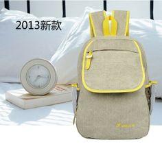 stacy bas women canvas backpack female travel backpack men shoulder bag travel bag students backpack school bag $10.00